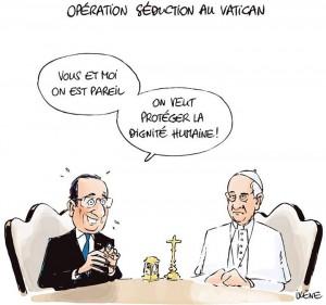 Comment rencontrer le pape au vatican
