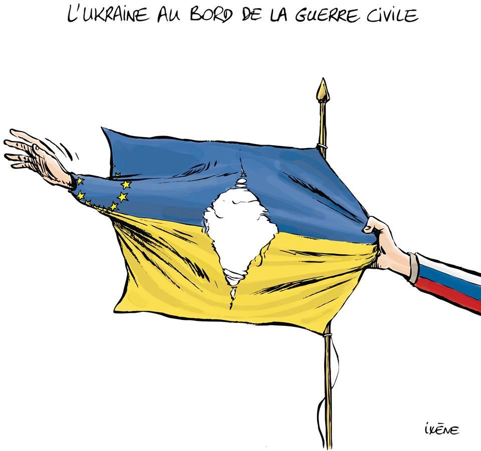 L'Ukraine se déchire entre l'Europe et la Russie