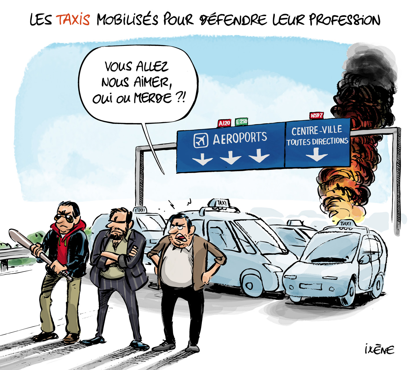 2015 06 25 Taxis et Uber