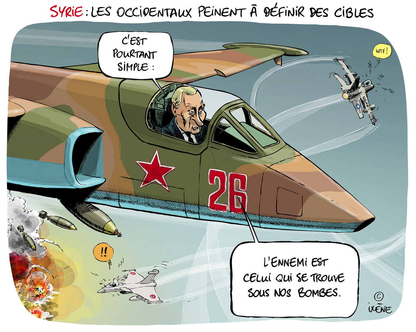 2015 11 08 Poutine en Syrie