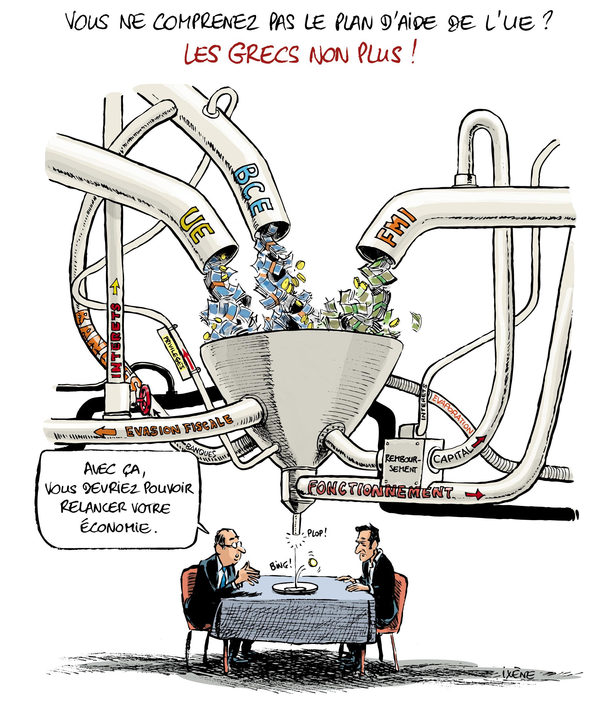 Ixene Accord UE-Grece titre