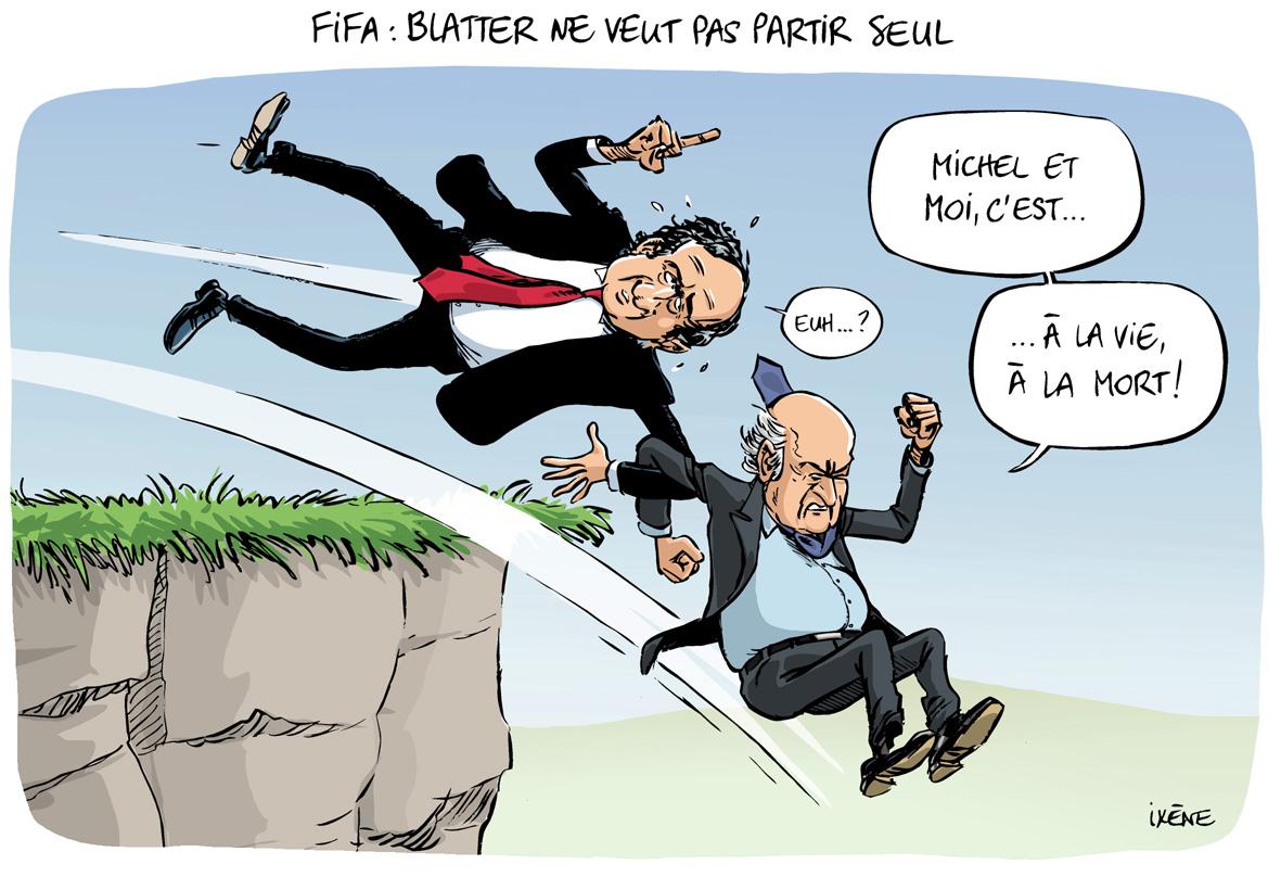 Ixene-20151210-FIFA-Platini-Blatter