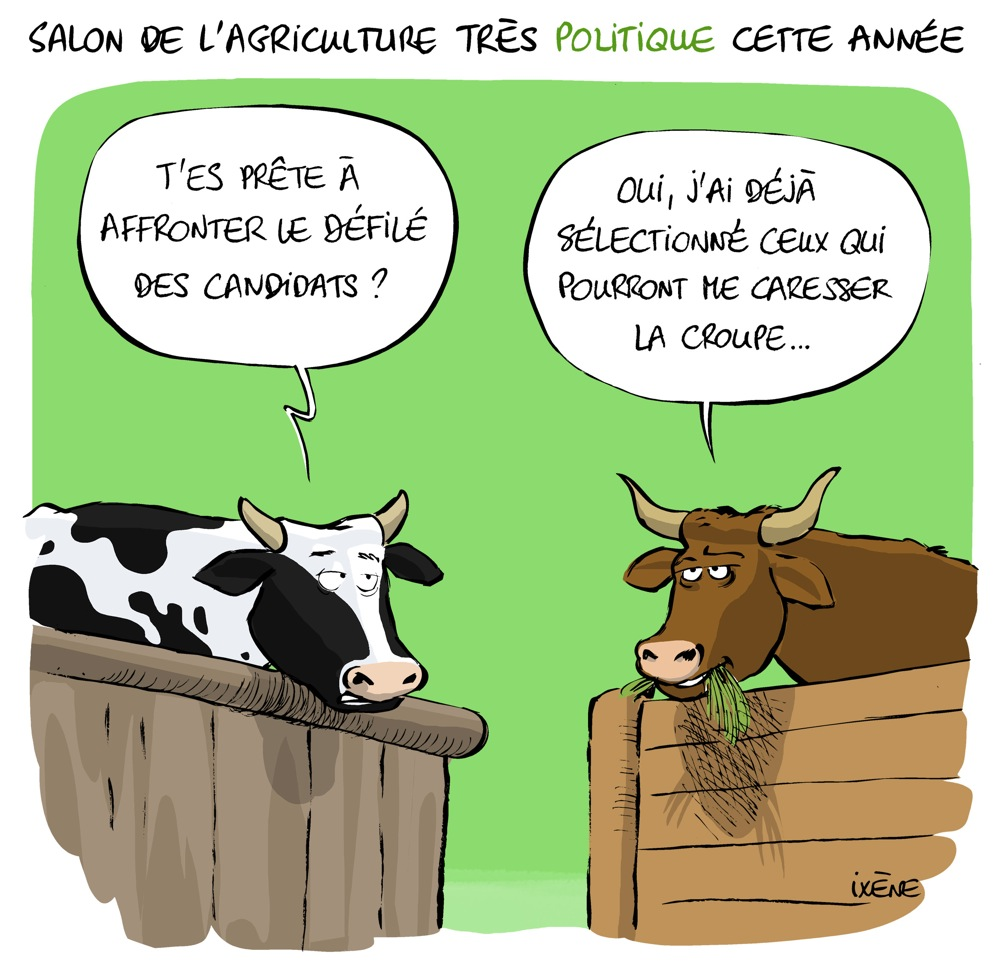 Le salon de l agriculture ouvre demain on attend de gros sp cimens ix ne - Salon agriculture adresse ...