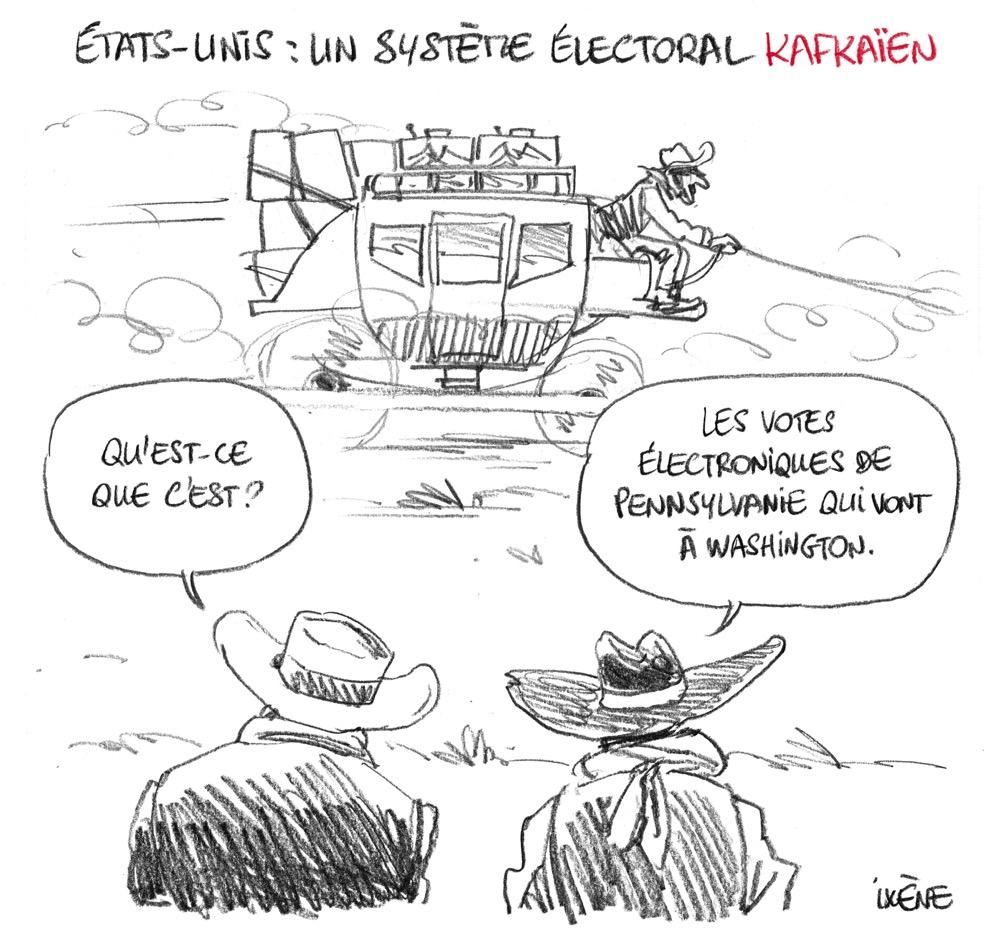 Etats-Unis : un système électoral kafkaïen